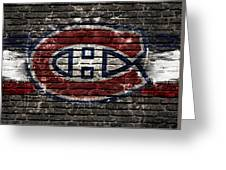 Montreal Canadiens Habshype Greeting Card