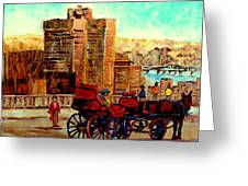 Montreal City View Greeting Card