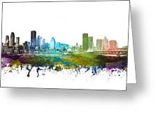 Montreal Cityscape 01 Greeting Card
