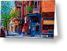 Montreal Depanneurs Greeting Card