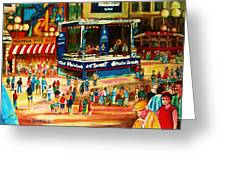 Montreal Jazz Festival Greeting Card
