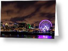 Montreal Observation Wheel Greeting Card