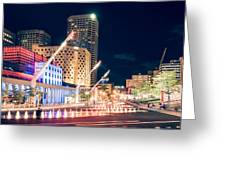 Montreal - Place Des Arts Greeting Card