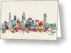 Montreal Quebec Skyline Greeting Card