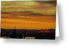 Montreal Sunrise 2 Greeting Card