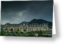 Montreux Palace Greeting Card