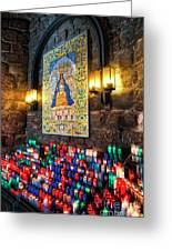 Montserrat Shrine Greeting Card