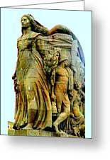 Monument Aux Morts 7 Greeting Card