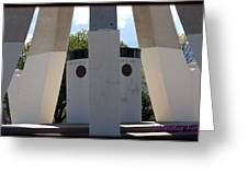 Monument Base Greeting Card
