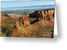 Monument Canyon Greeting Card