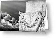 Monument Particular In Rome Greeting Card