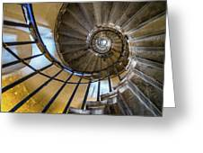 Monument Stairs Greeting Card