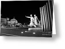 Monument To The Emigrant Greeting Card
