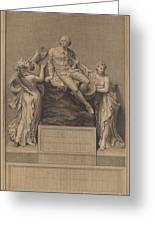 Monument To William Shakespeare Greeting Card