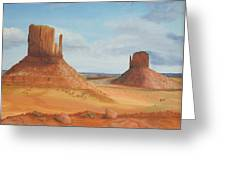Monument Valley    The Mittens Greeting Card