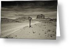 Monument Valley 6 Greeting Card
