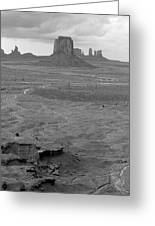 Monument Valley Afternoon Greeting Card
