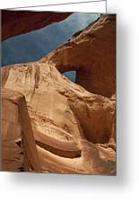 Monument Valley Arch 7369 Greeting Card
