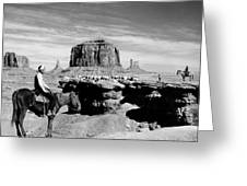 Monument Valley: Butte Greeting Card