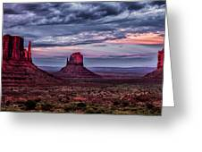 Monument Valley Mittens Greeting Card