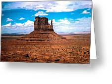 Monument Valley Monolith Greeting Card