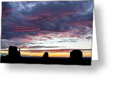 Monument Valley Morning #1 Greeting Card