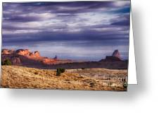 Monument Valley Morning Greeting Card