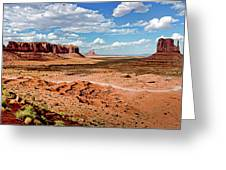 Monument Valley National Park Greeting Card