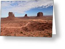 Monument Valley-one Greeting Card