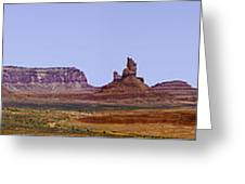 Monument Valley Pano Greeting Card
