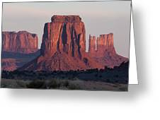 Monument Valley Sunrise 7288 Greeting Card