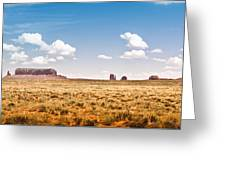 Monument Valley Wide Angle Greeting Card