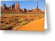 Monument Valley,arizona Greeting Card