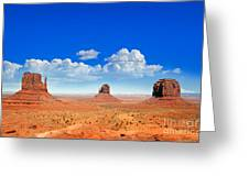 Monument Vally Buttes Greeting Card by Jane Rix