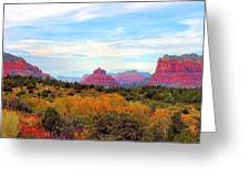 Monumental Bell Rock Vista Greeting Card
