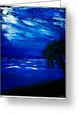 Moods Of The Sea Romantic Greeting Card