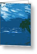 Moods Of The Sea Surreal Greeting Card