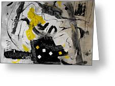Moods Yellow Let It All Hang Out Greeting Card
