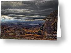 Moody Mountain View Greeting Card