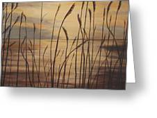 Moody Sunset Greeting Card
