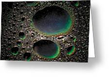 Moon Cores Greeting Card