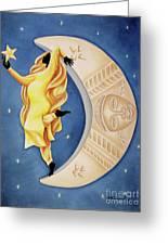 Moon Dancer Greeting Card