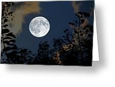 Moon Glo Greeting Card