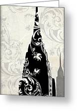 Moon Over New York Greeting Card