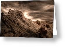 Moon Rocks Greeting Card by Scott McGuire