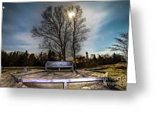 Moon Shadow Iroquois Point -1462 Greeting Card