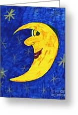 Moon Shine Greeting Card