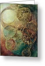 Moon Thread Greeting Card