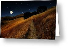 Moon Walk Greeting Card