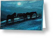 Moonbeam Greeting Card